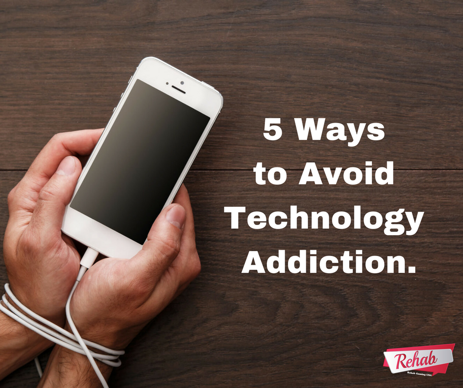 5 Ways To Avoid Technology Addiction