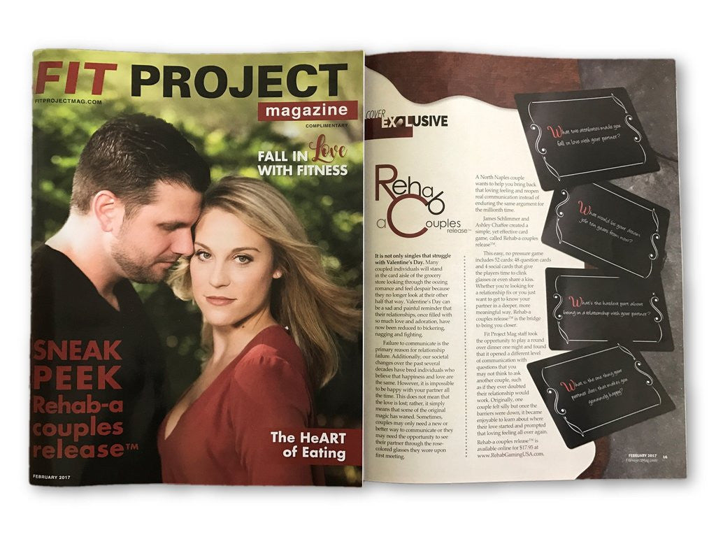 Fit Project Magazine Features Rehab-a couples release