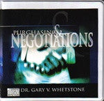 Purchasing & Negotiation by Dr. Gary V. Whetstone