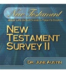 New Testament Survey II by Dr. June Austin Study Guide NT 102
