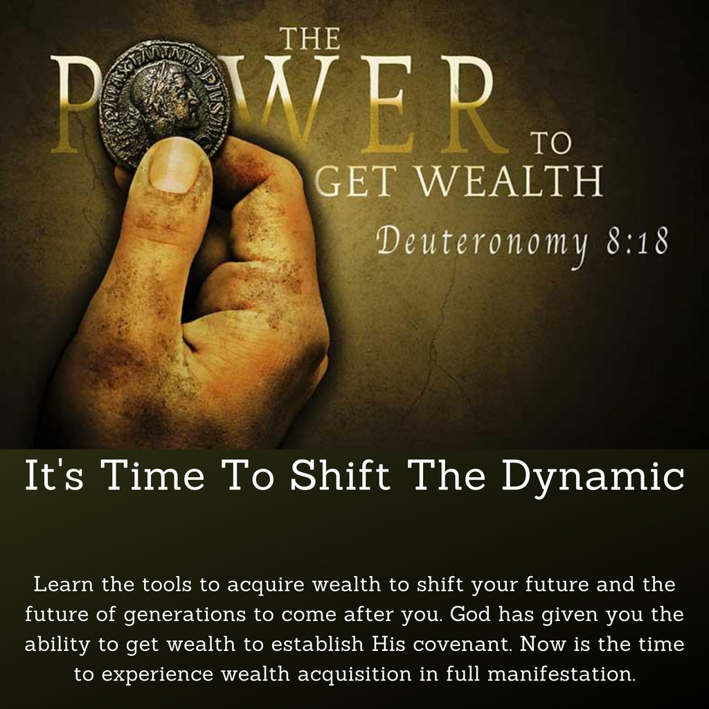 Power To Get Wealth Resource Bundle