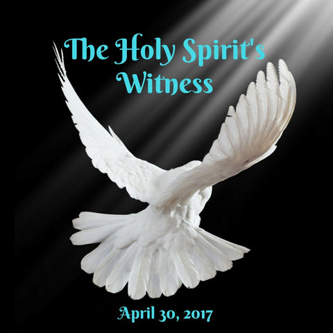 30-Apr-2017: The Holy Spirit's Witness