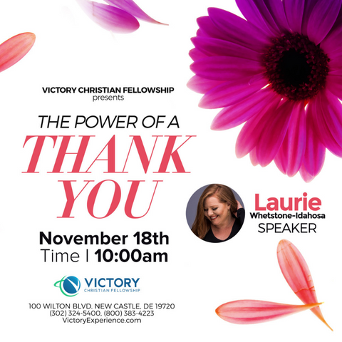 18-November-2018: The Power of a Thank You [Digital]