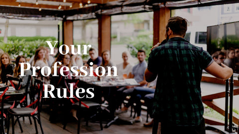 30-September-2018: Your Profession Rules [Digital]