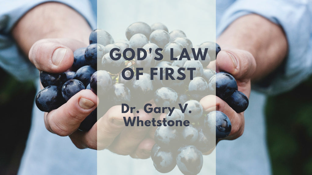 14-Jan-2018: God's Law Of First [Digital]