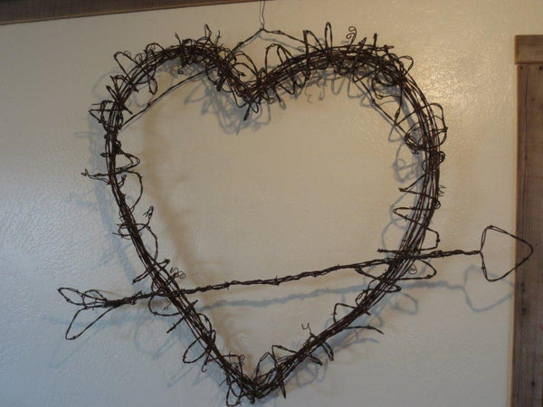 Barbed-Wire Decorations