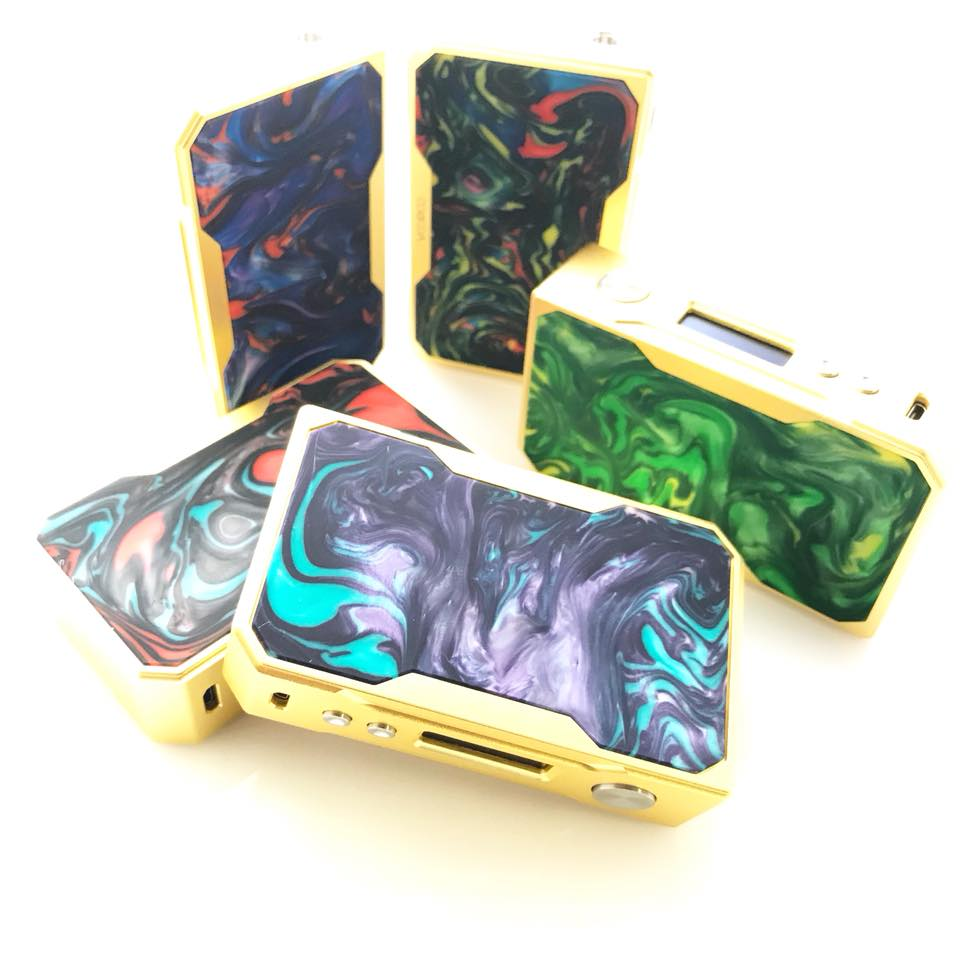 Voopoo Drag Resin 157W Mod Limited Edition Gold