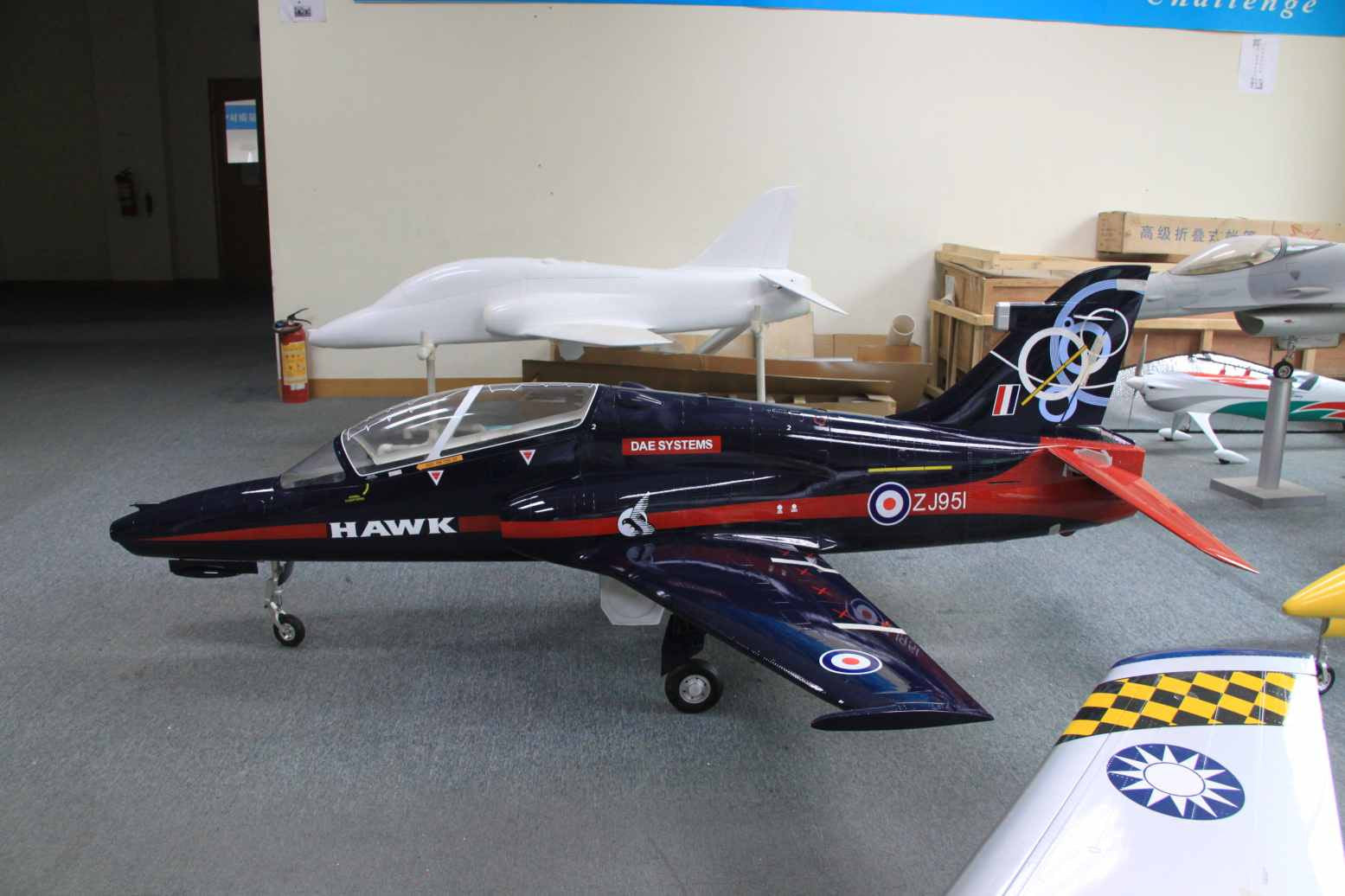 Skymaster 1/3  65 Scale BAE, Hawk100 T-1 ARF Plus Pro, Airframe only