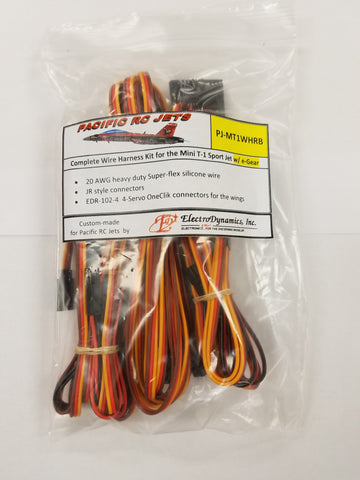 1.7m T-1 (E-GEAR) SERVO HARNESS KIT