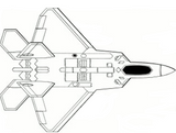 T-One Models 2.7meter F22 Raptor