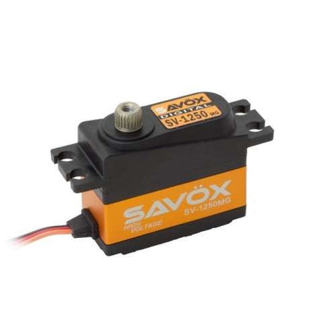 Savox SV1250MG Hi Voltage Mini Servo