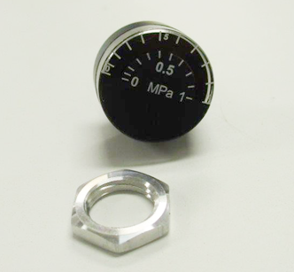 PRCJ Sing Air Gauge W/Metal Retaining Nut