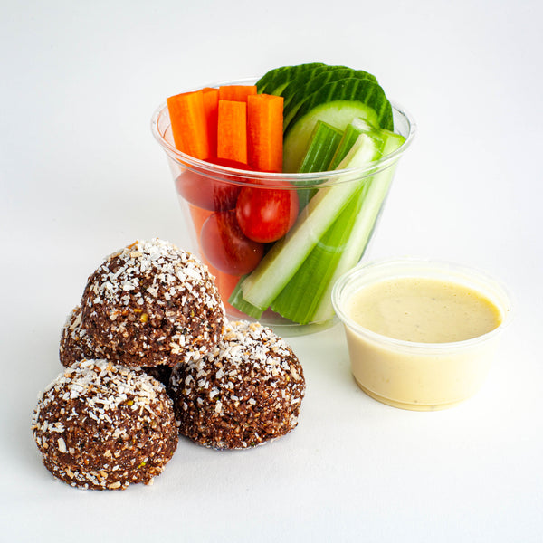Protein truffles and healthy snacks Kooshi Gourmet Los Angeles Meal Delivery