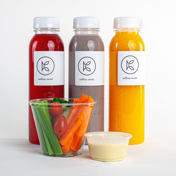 Fresh-pressed juices and healthy snacks - Kooshi Gourmet Los Angeles Meal Delivery