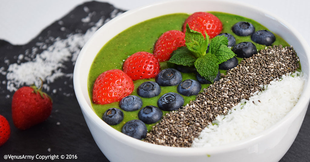 Super Green Smoothie Bowl!