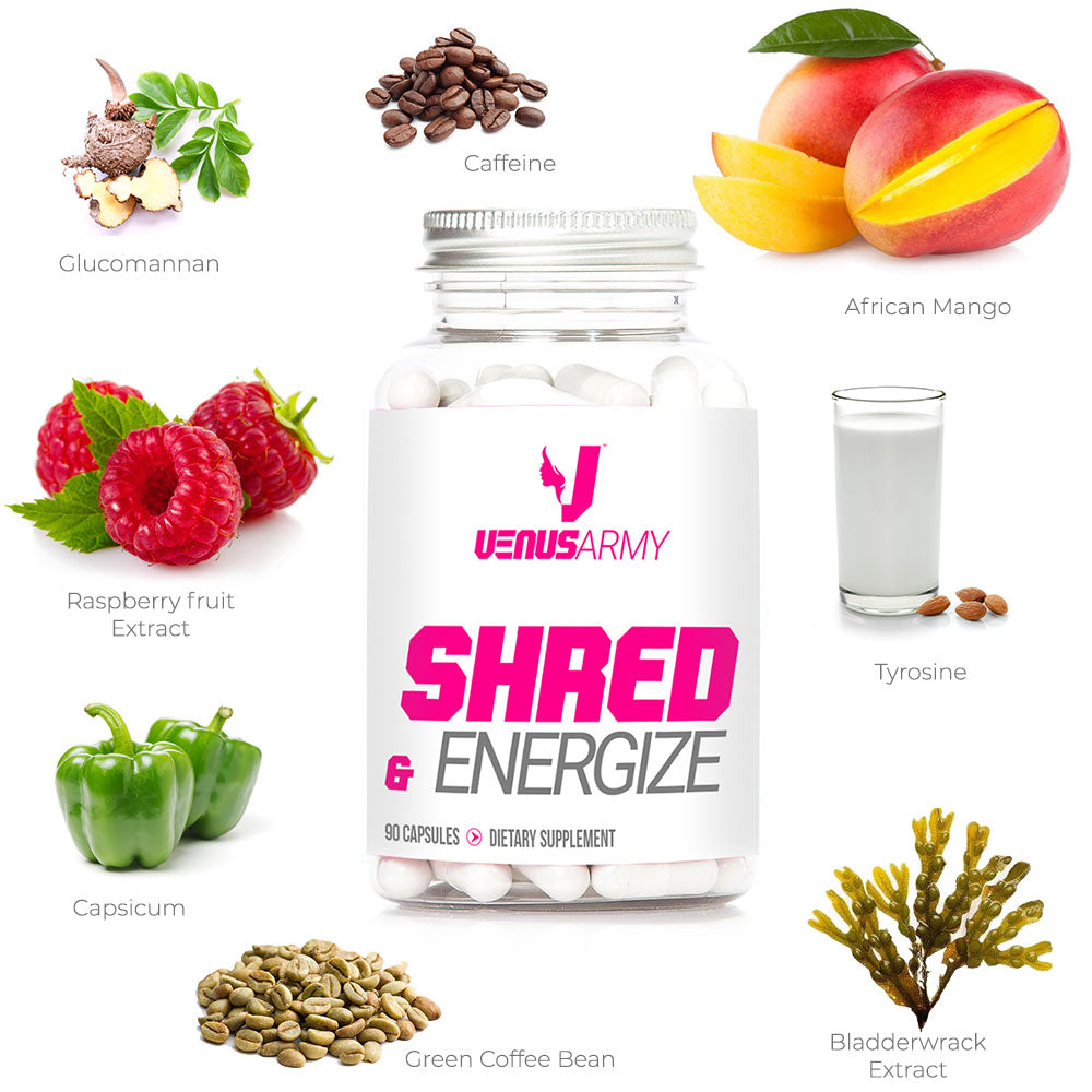 Burn Fat With SHRED AND ENERGIZE