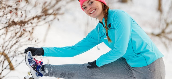 How to burn fat in winter