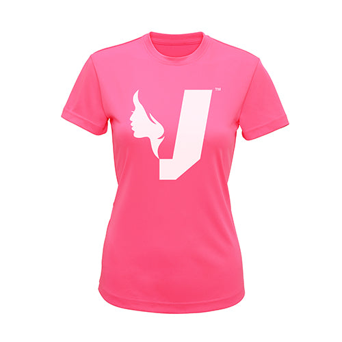 PERFORMANCE T-SHIRT-ELECTRIC PINK - Venus Army