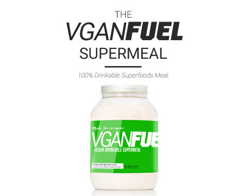 VGANFUEL is a Vegan Superfood supermeal dri