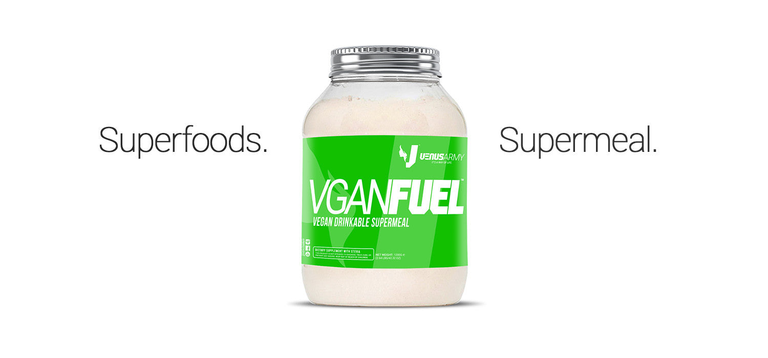 Vegan Meal Replacement superfoods blend