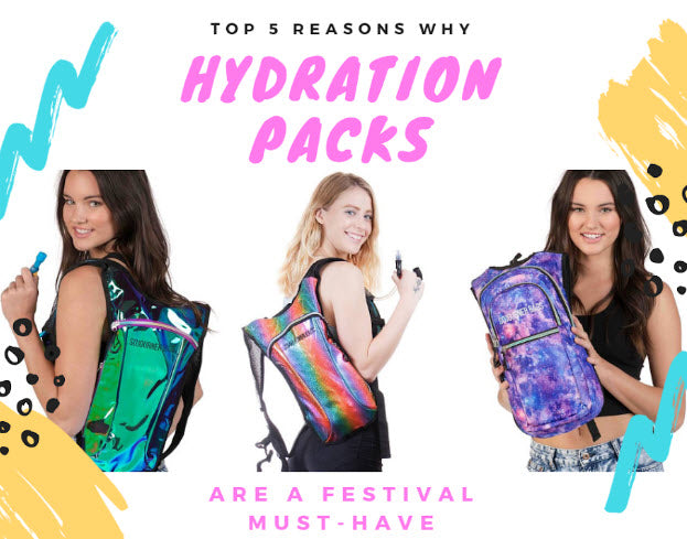 Top 5 Reasons Why Hydration Packs Are a Festival Must-Have