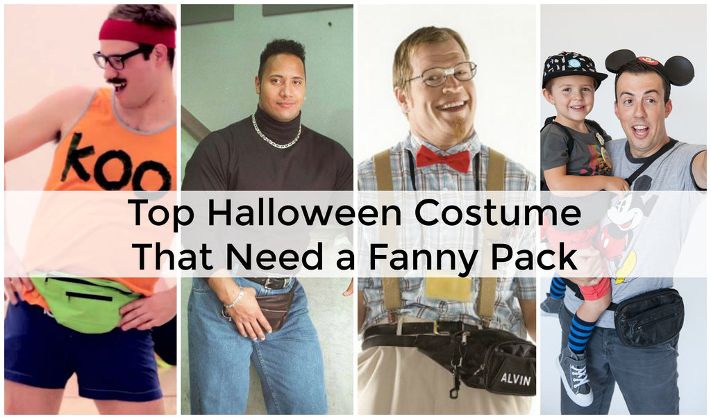 Top 18 Fanny Pack Halloween Costume Ideas!