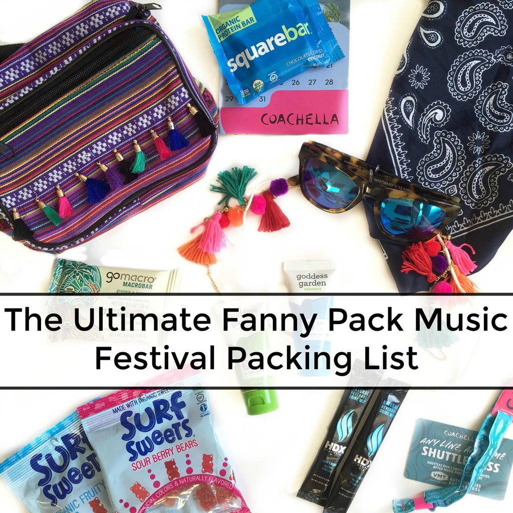 The Ultimate Fanny Pack Festival Packing List