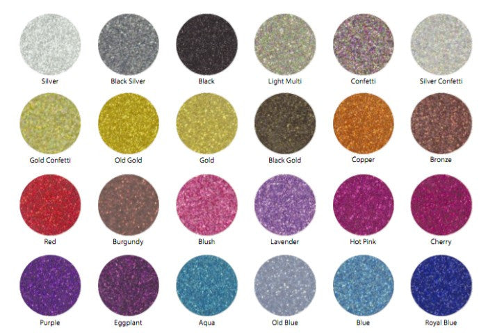 Fanny Pack colors - glitter - SoJourner Bags