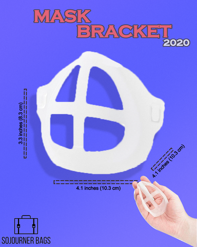 dimensions of the mask bracket