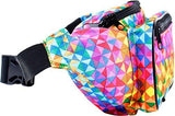 Rainbow Triangles Fanny Pack