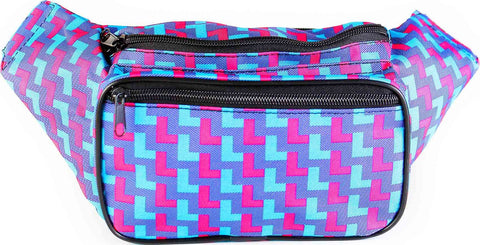 80s Neon Fanny Pack - Front