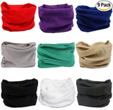 Fanny Pack 9PCS Solids Series 1 - Seamless Mask Bandana Headband - SoJourner Bags
