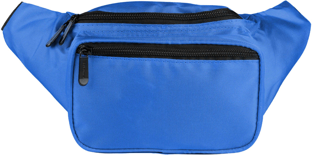 Fanny Pack Solid Color Fanny Pack (Blue) - SoJourner Bags