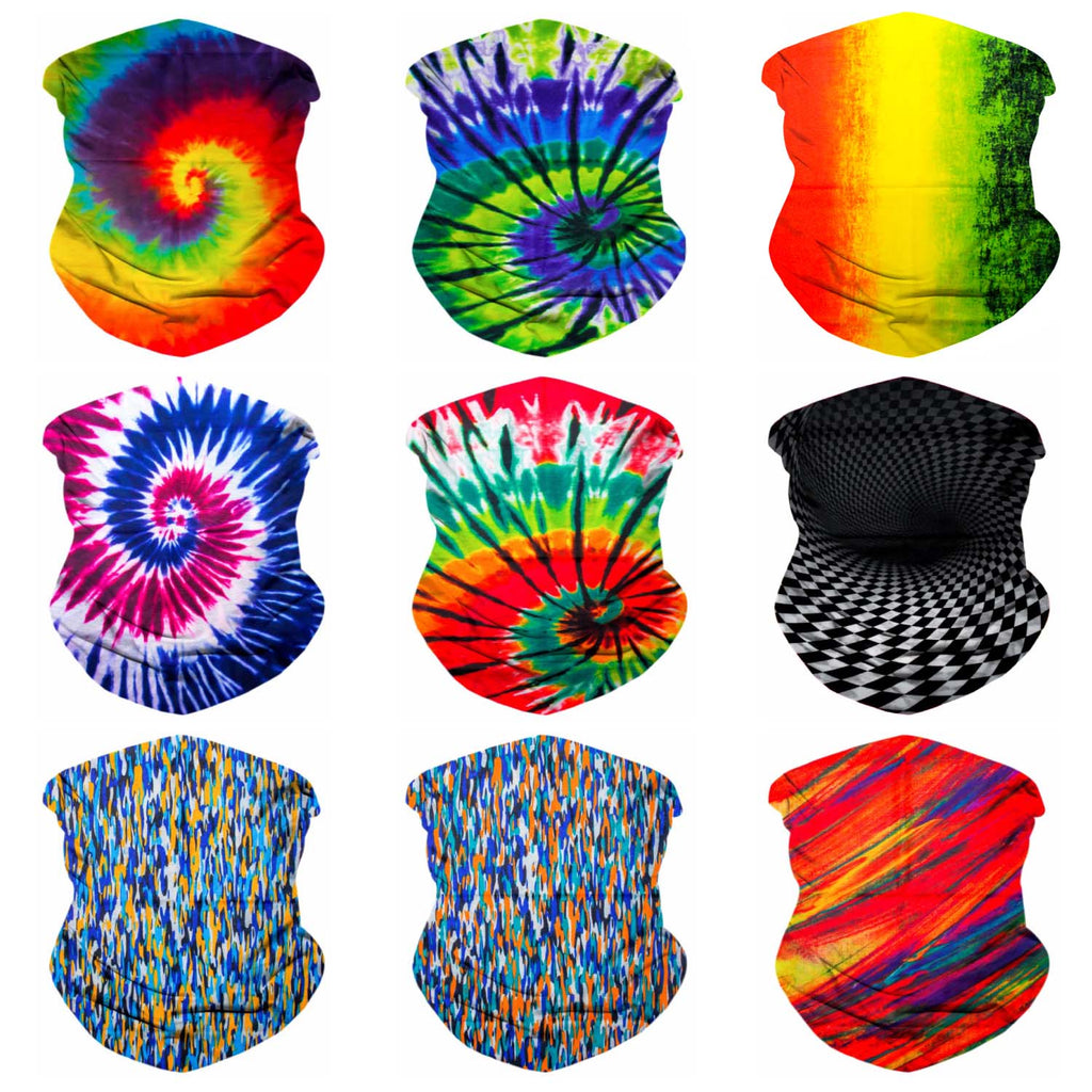9PCS Festival Series 4 - Seamless Mask Bandana Headband