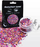Fanny Pack Loose Chunky Cosmetic Holographic Body Glitter - Galaxy Vibes - SoJourner Bags