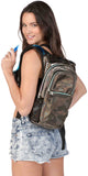 Fanny Pack Medium Hydration Pack Backpack - 2L Water Bladder - Holographic Copper - SoJourner Bags