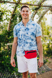 Fanny Pack Solid Color Fanny Pack (Red) - SoJourner Bags