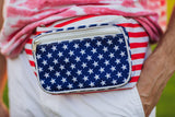 Fanny Pack USA American Flag Fanny Pack - SoJourner Bags