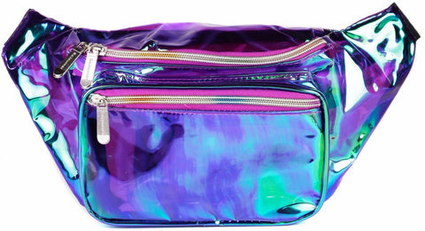 Fanny Pack Purple Transparent Fanny Pack - SoJourner Bags