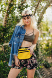 Solid Color Fanny Pack (Yellow)