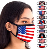 Face Mouth Mask - Cotton Face Covering (9 Pack - USA)