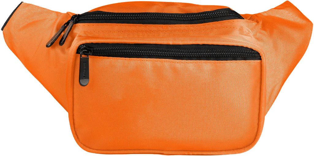 Fanny Pack Solid Color Fanny Pack (Orange) - SoJourner Bags