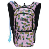 Medium Hydration Pack Backpack - 2L Water Bladder - Pineapple