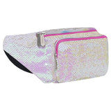 Sequin Iridescent - Gold Fanny Pack