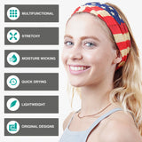9PCS Floral Series 1 - Seamless Mask Bandana Headband