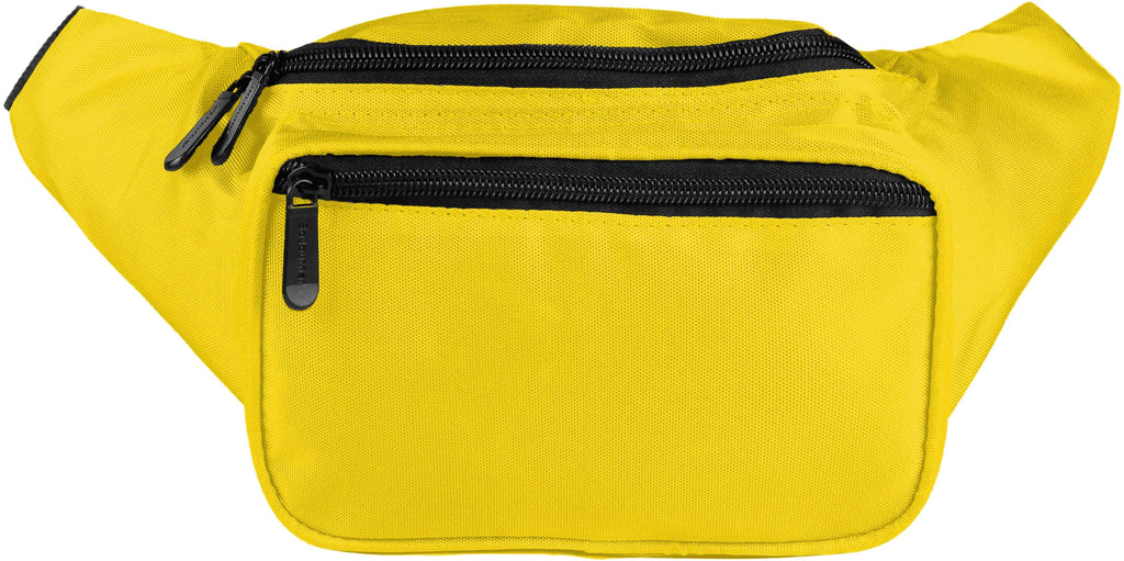 Fanny Pack Solid Color Fanny Pack (Yellow) - SoJourner Bags