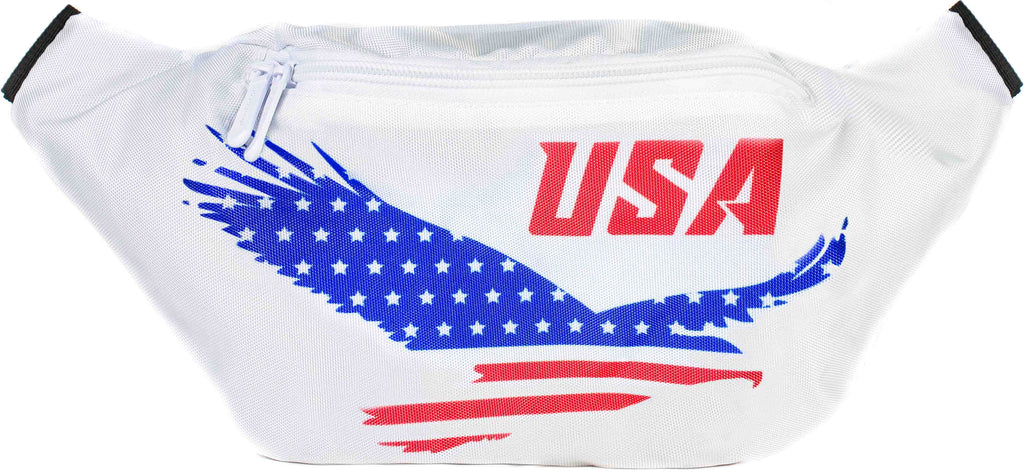 Fanny Pack USA American Eagle Fanny Pack - SoJourner Bags