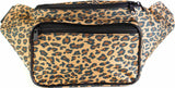 Cheetah Animal Print Fanny Pack - SoJourner Bags - front
