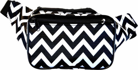 Chevron Fanny Pack - SoJourner Bags - front