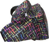 Fanny Pack Confetti Sprinkle Fanny Pack (Black Rainbow) - SoJourner Bags